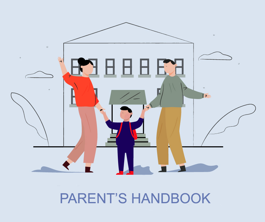 3 Children back to school with parents
