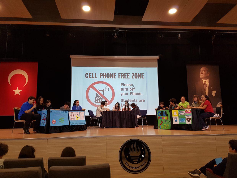 Ortaokul Ogrencilerimizden Ingilizce Munazara Debate Speech